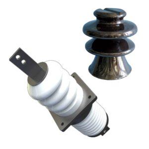 Изоляторы опорные, полимерные, стеклянные и фарфоровые